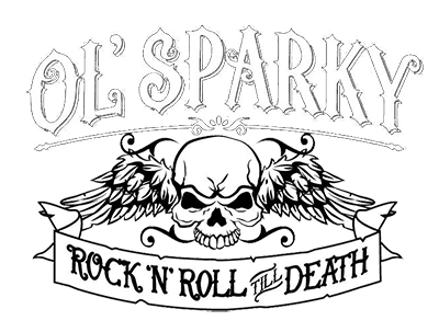 Old Sparky! Hardcore Punk Rock and Roll. Fuck you.